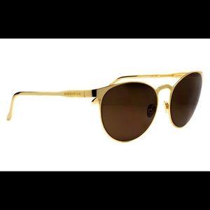 24 Karat Gold Chilli Bean Sunglasses xHERCHCOVITCH